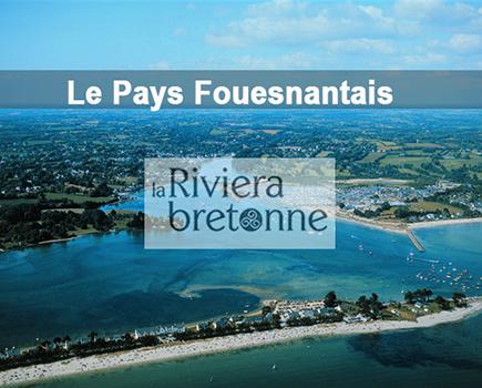 Le pays fouesnantais ou la Riviera bretonne au sud Finistère