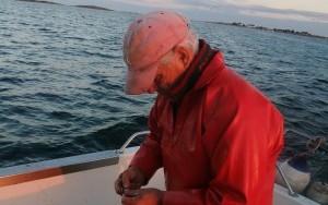 claude pêcheur en mer