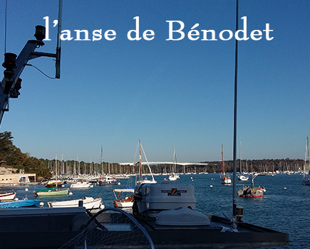 Bénodet vue de  Sainte-Marine