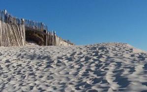 """plage de sable """"les dunes"""""""