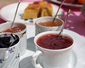 confitures du petit-déjeuner