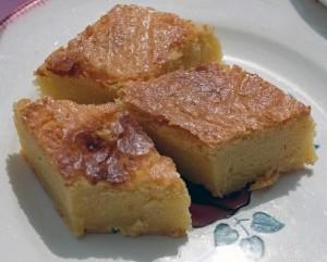 parts de gâteau breton
