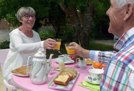 petit déjeuner chez marie-thé